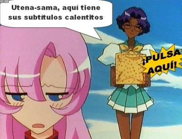 Subtítulos de Utena en castellano