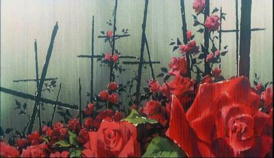 Rosas crucificadas